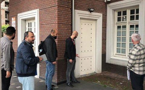 مسجد آمستردام هدف تعرض اسلام ستیزانه قرار گرفت
