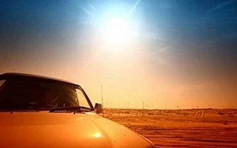 مضرات نور آفتاب برای خودرو چیست؟