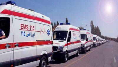بحران کمبود آمبولانس در هرمزگان