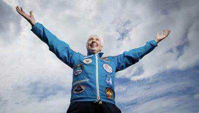 موشک نیوشپارد زن ۸۲ ساله را به فضا می برد