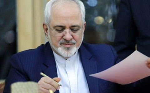 نامه ظریف به رئیس کمیسیون امنیت ملی مجلس درباره برجام