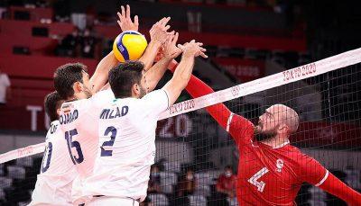 والیبال ایران به کانادا باخت