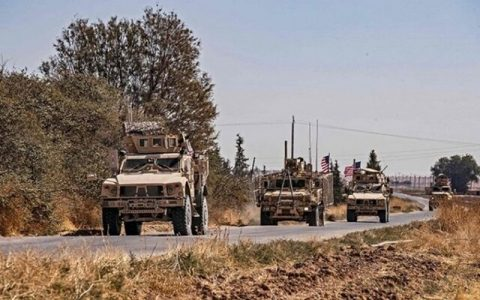 ورود کاروان بزرگ آمریکا به خاک سوریه