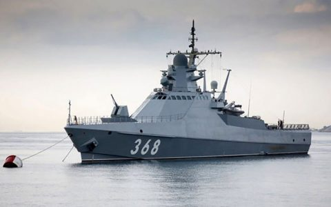 کنترل یک کشتی اسپانیایی در آبهای دریای سیاه