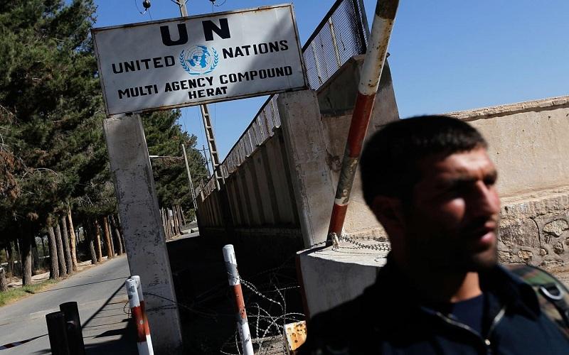 حمله به دفتر سازمان ملل در هرات