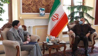 دیدار سفیر چین و امیرعبداللهیان در تهران