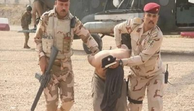 دستگیری سرکرده داعشی موسوم به والی بغداد