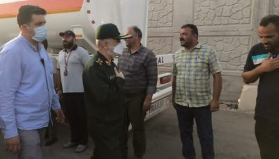 سردار سلامی: سپاه در کنار مردم خوزستان است
