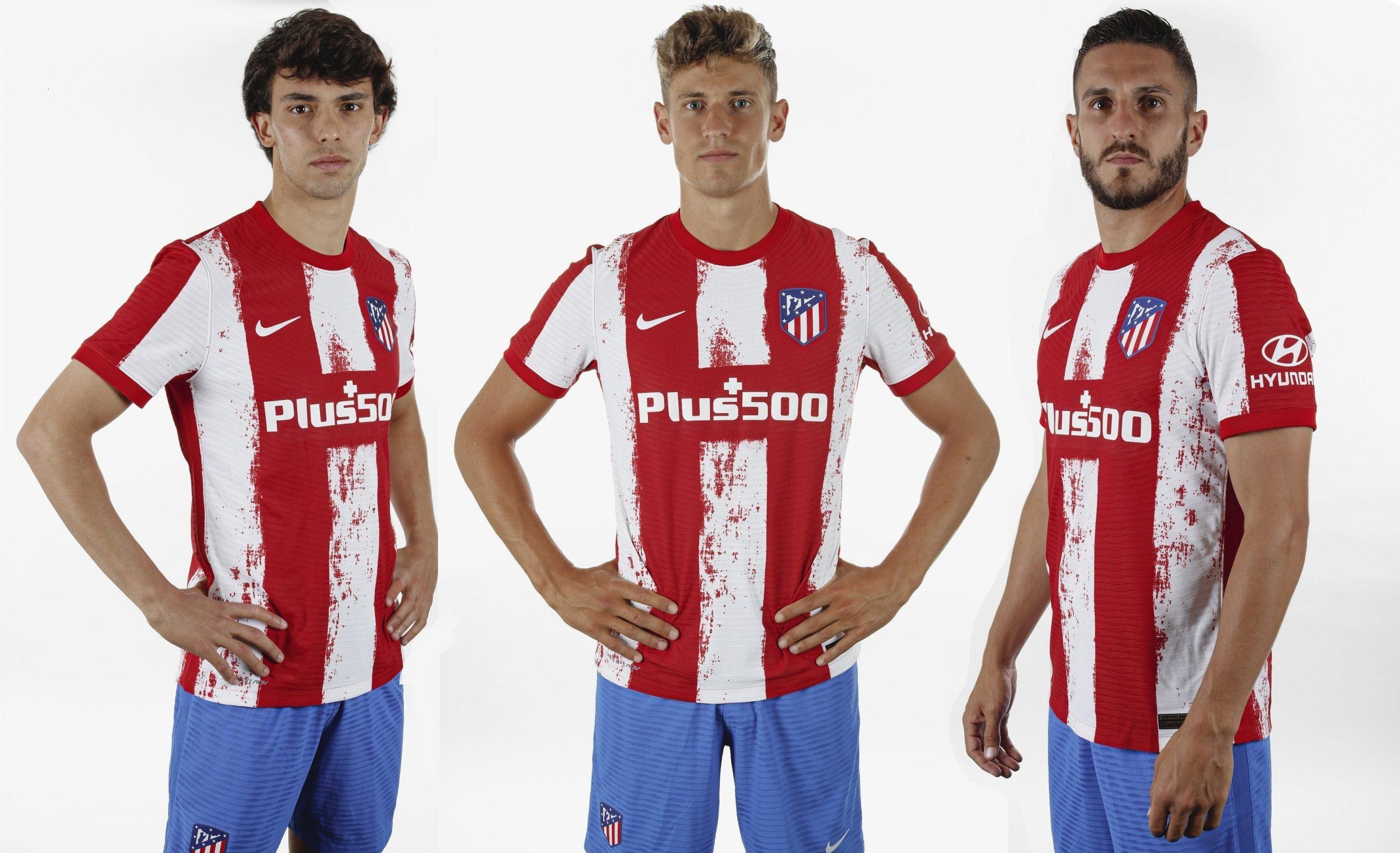 رونمایی از پیراهن جدید اتلتیکومادرید / عکس