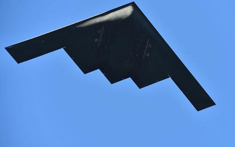 تصویری جدید از بمبافکن هستهای ایالات متحده آمریکا