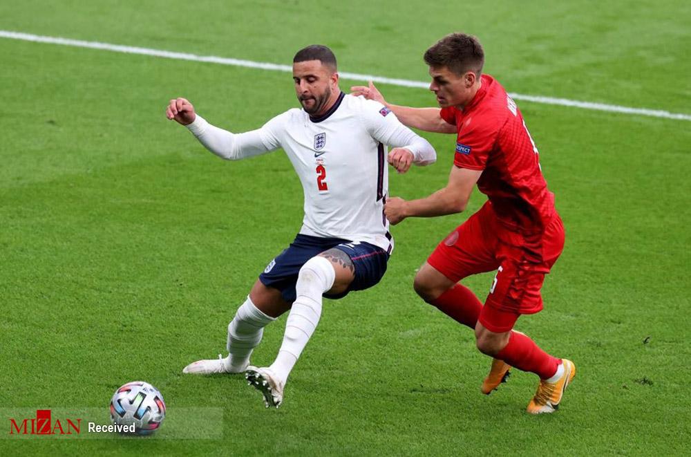 نیمه نهایی یورو ۲۰۲۰ - دیدار تیمهای انگلیس و دانمارک