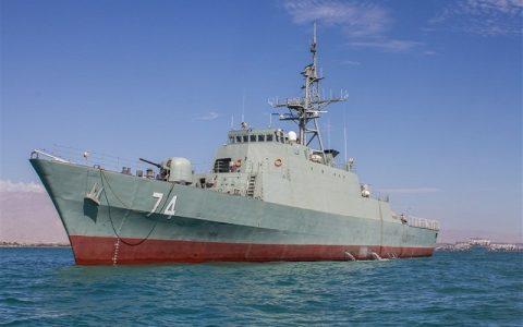 رژه نیروی دریایی روسیه