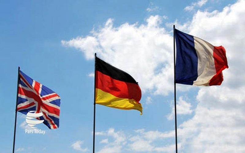 انگلیس، فرانسه و آلمان