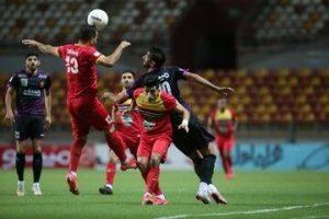 پرسپولیس مقابل فولاد خوزستان متوقف شد