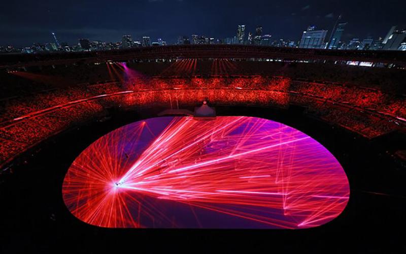 آغاز مراسم المپیک ۲۰۲۰ توکیو