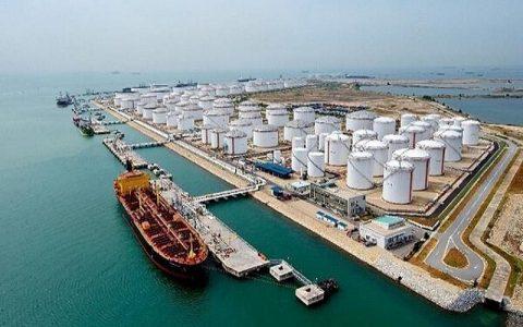 صادرات نفت خارج از تنگ هرمز توسط ایران، ترمینال نفتی جاسک