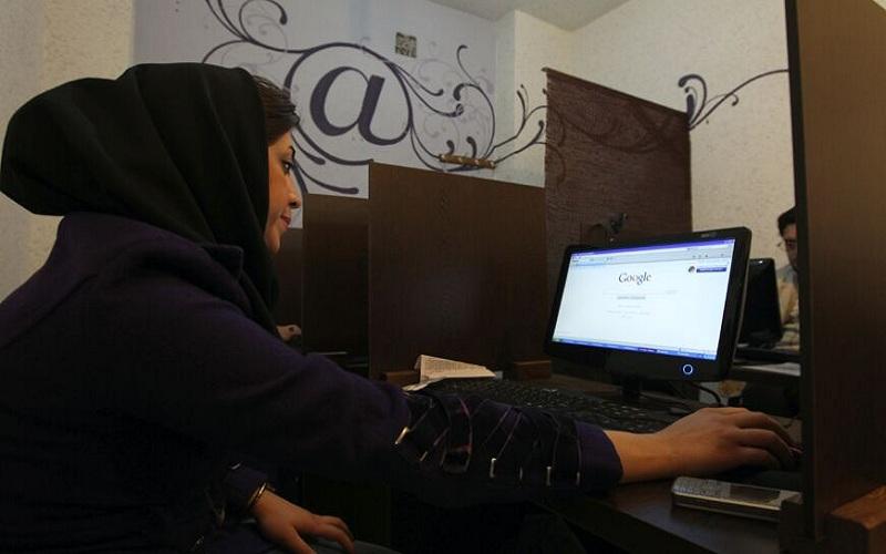قطع اینترنت ایران در جریان اعتراضات