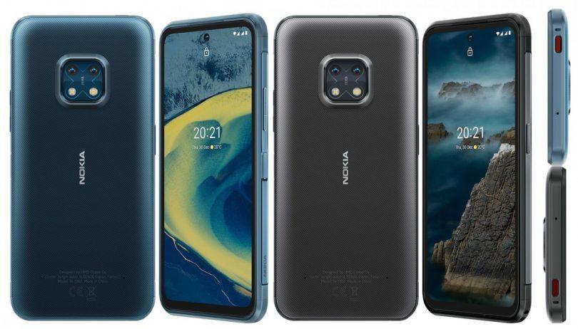 نوکیا XR20 یک گوشی جان سخت اما با پشتیبانی 5جی
