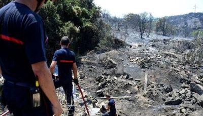آتشسوزی در یونان ۲۰ خانه را خاکستر کرد