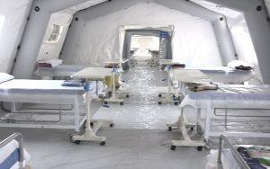 آمادهسازی بیمارستان صحرایی در خوزستان