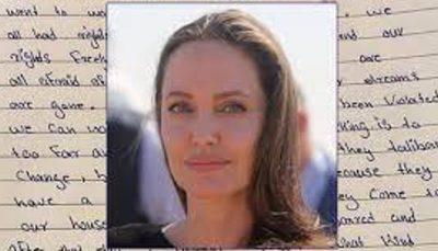 «آنجلینا جولی» برای افغان ها دست به کار شد