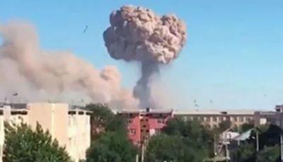 انفجار جدید در پایگاه «بایزاک» قزاقستان
