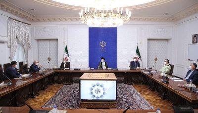 اولین جلسه رئیسی با روسای کمیتههای ستاد ملی کرونا