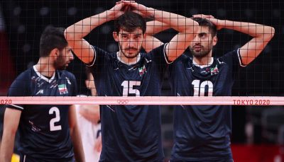ایران در جدیدترین رده بندی تیم های ملی والیبال جایگاه آسیایی خود را از دست داد