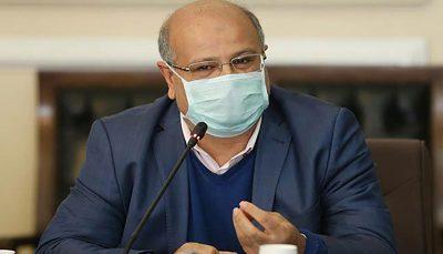 زالی از بستری شدن روزانه ۲ هزار بیمار جدید در تهران خبرداد