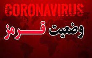بوشهر سراسر قرمز کرونایی شد