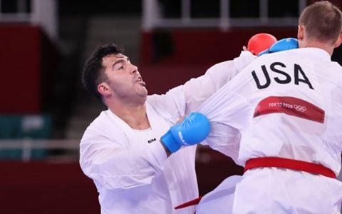 تحقیر کاراتهکای آمریکایی مقابل گنجزاده