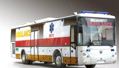 تحویل اتوبوس آمبولانس ایران خودرو دیزل از نیمه شهریور آغاز میشود