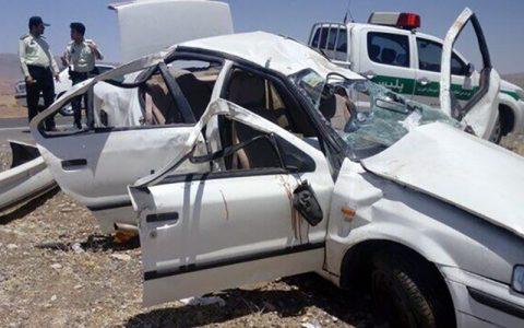 تصادف مرگبار ۳ خودرو در کرمان