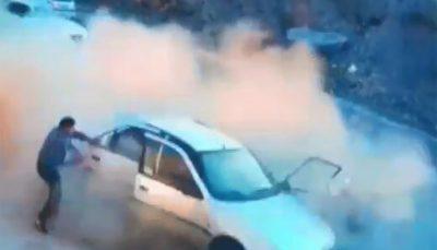 تصادف وحشتناک پژو پارس با راننده پژو ۴۰۵