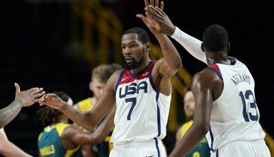 تیم ملی بسکتبال آمریکا قهرمان المپیک شد