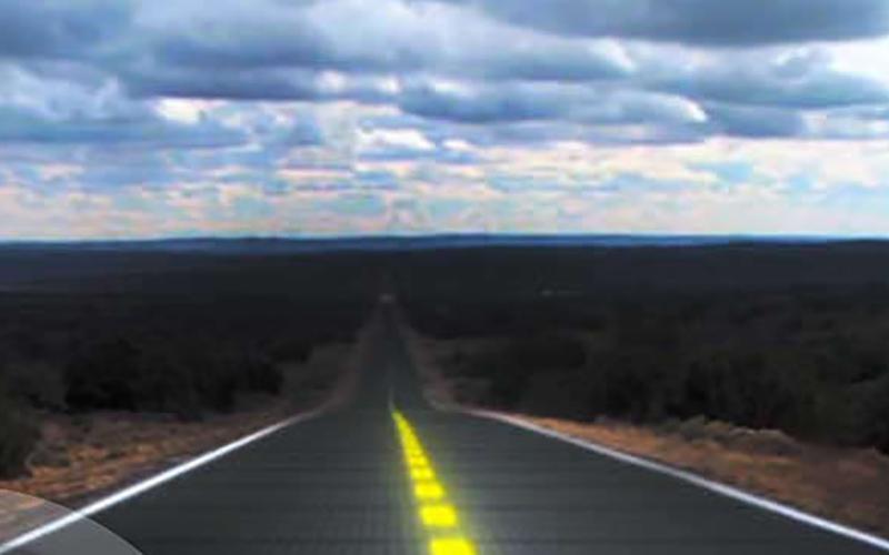 جاده های هوشمند آینده؛ از خورشیدی تا خودترمیم!