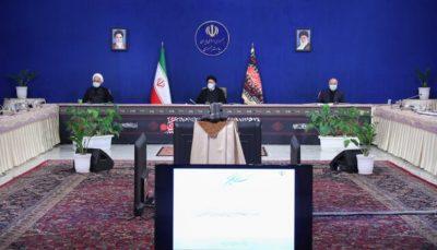 جلسه شورای عالی هماهنگی اقتصادی با حضور سران سه قوه