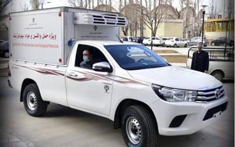 حمله دزدها به خودرو حمل واکسن در تهران