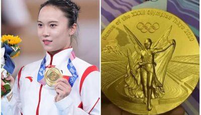 خراب شدن مدال های طلای المپیک بعد از ۴ هفته!