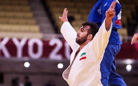 دومین مدال طلای کاروان ایران با درخشش نوری در جودو