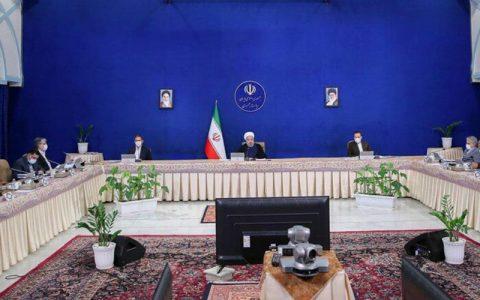 روحانی در آخرین جلسه هیات دولت
