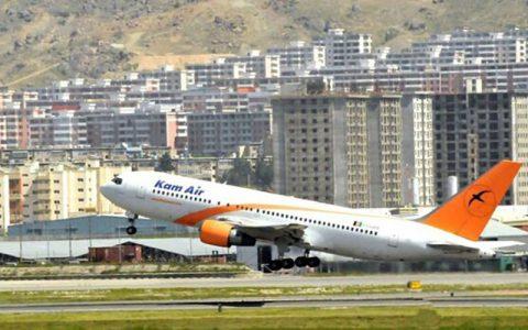 مجوز فرود برخی هواپیماهای یک ایرلاین افغان در ایران صادر شد