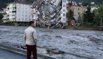 مرگ ۲۷ تن از شهروندان ترکیه در پی وقوع سیل در شمال این کشور