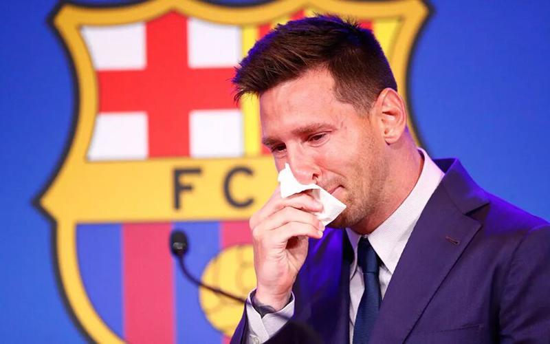 مسی در آستانه بازگشت به بارسلونا