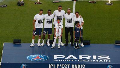 مسی و فوقستارههای جدید پاریس در پارکدوپرنس رونمایی شدند