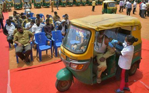 هند در واکسیناسیون کرونا رکورد زد