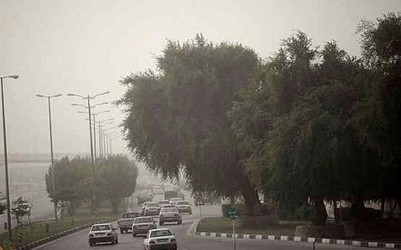 وزش باد در تهران و افزایش غلظت آلایندههای ازن