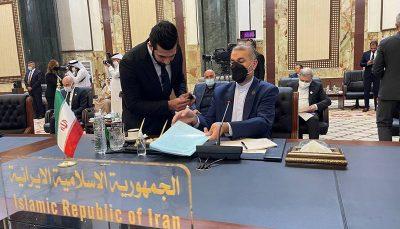 وزیر خارجه در اجلاس بغداد