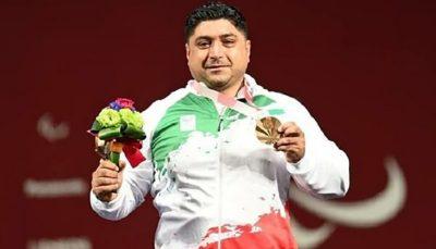 سامان رضی به مدال برنز وزنهبرداری رسید