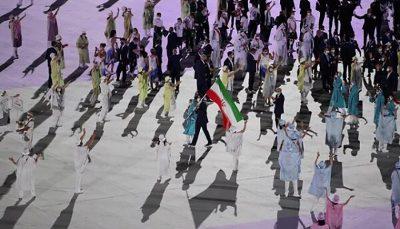 پرچمدار ایران در اختتامیه المپیک ۲۰۲۰